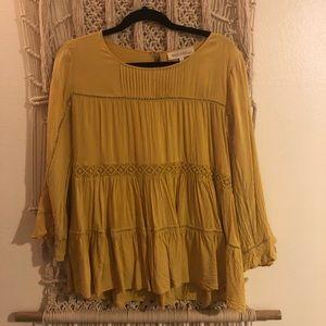 Yellow summer blouse!